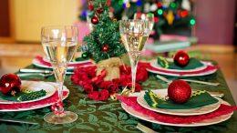 dekoracje stołu na bożenarodzenie