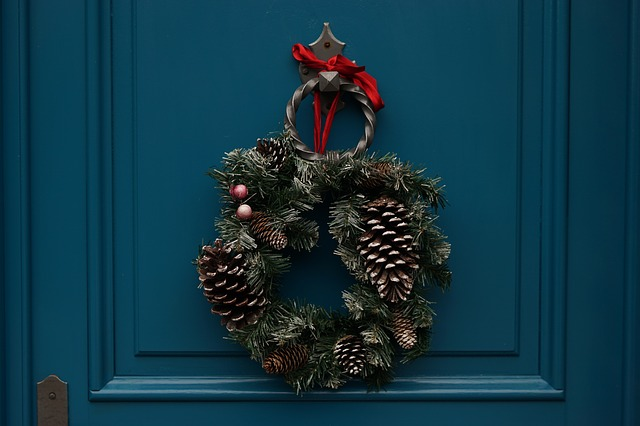 stroik na drzwi wykonanie