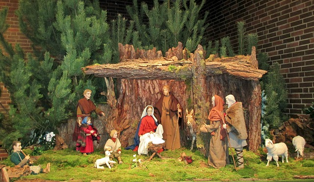 szopka bożonarodzeniowa wykonanie